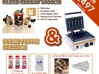 Choco marshmallow Kebab luxury system Fudge puppy Extra