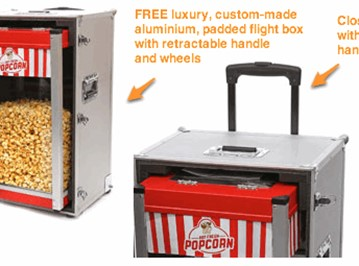 Popcorn Warmer - Business In A Box!